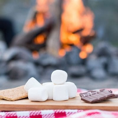 Healthy S'mores Chocolate recipe